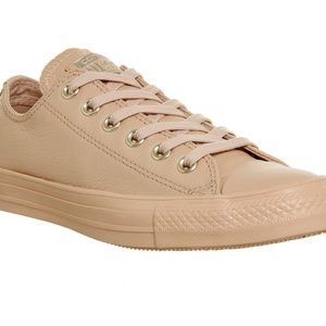 Converse All Star Ox Leather Holiday Nude/Pink